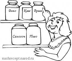 хлебная брага рецепт